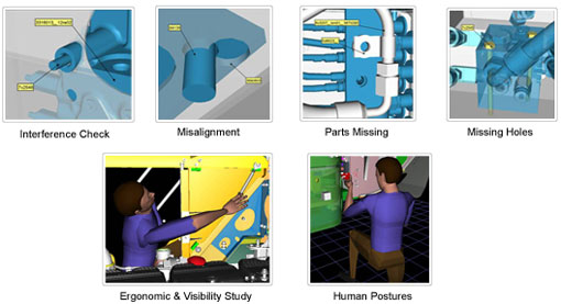 Geometric Process Planning & Assembly Validation Virtual Design Review
